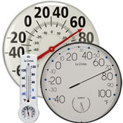 Analog Thermometer/Hygrometer Combos