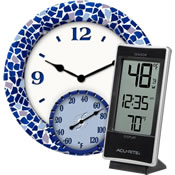 Clock Thermometers
