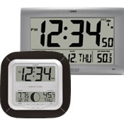 Digital Clock/Thermometer Combos