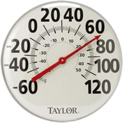 Large Outdoor Thermometers