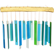 Sea Glass Wind Chimes