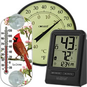 Small Outdoor Thermometers