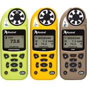 Handheld Wind & Weather Meters