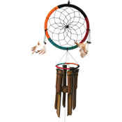 Cohasset Dream Catcher Bamboo Windchime
