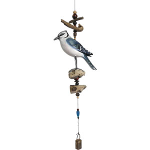 Cohasset Blue Jay Driftwood Mobile