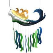 Gift Essentials Glass Mermaid Wind Chime