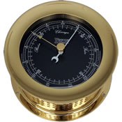 Weems & Plath Atlantis Nautical Flag Barometers