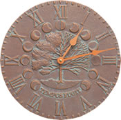 Whitehall Times & Seasons Wall Clock