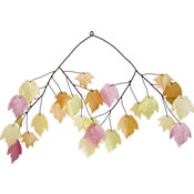 Woodstock Autumn Leaves Capiz Chime
