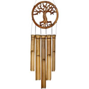 Woodstock Tree of Life Bamboo Chime